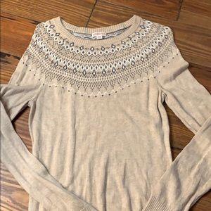 Fair isle sweater by Merona medium